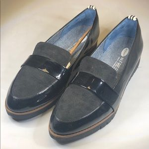 (p250) Dr. Scholl's Platform Loafers 11M